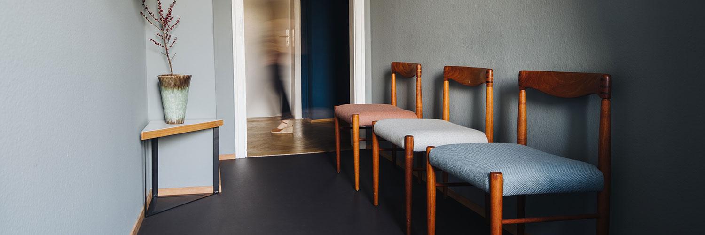 Psychotherapie München - Baum-Schmidsfeld - Wartezimmer der Praxis